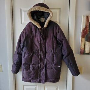 Vintage 80's Reebok Classic Quilted Down Parka